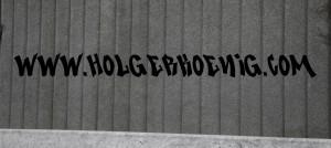 Schriftzug im Graffiti-Style