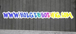 Graffiti-Schriftzug mit Farbverlauf
