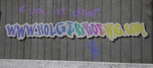 Graffiti mit Beiwerk