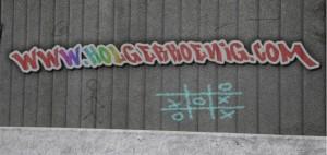 Mein Graffiti-Schriftzug